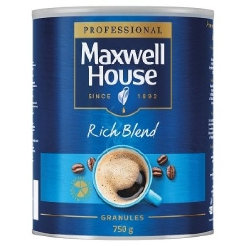 Maxwell House Rich Blend Instant Coffee Granules 750g