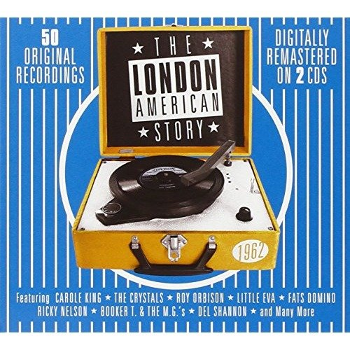 The London American Story 1962 Double Cd Audio Cd Various Artists