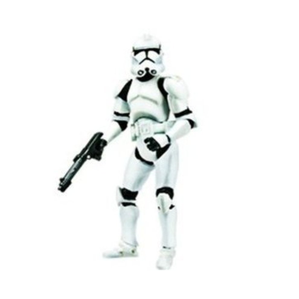 Star Wars Revenge Of The Sith Clone Trooper Figure 4 Inches On Onbuy