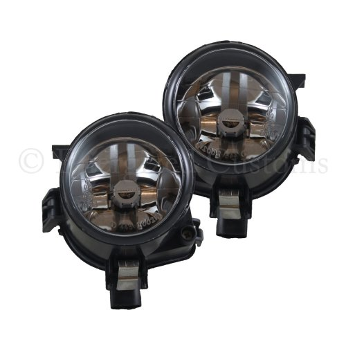 For Nissan Cabstar 2007 Front Fog Lamps Including Bulb 1 Pair O//S /& N//S