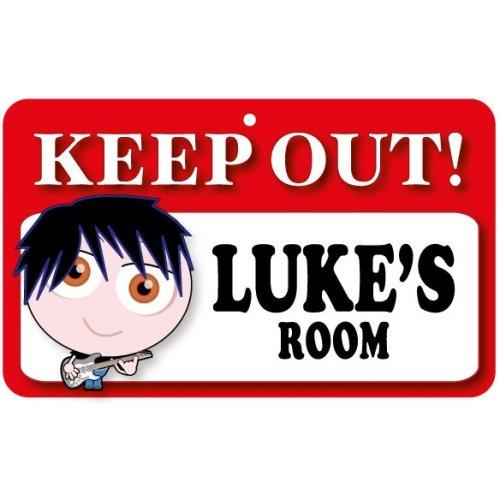 Keep Out Door Sign - Luke's Room