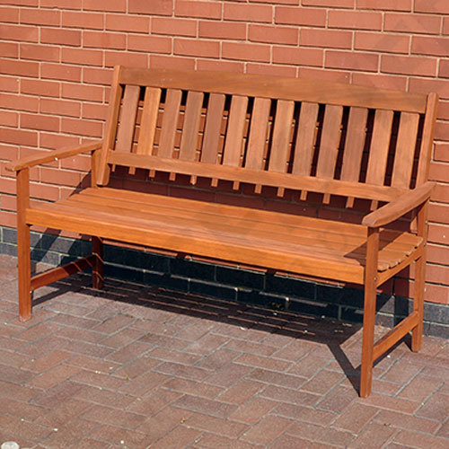 Kingfisher Traditional Wooden Garden Bench