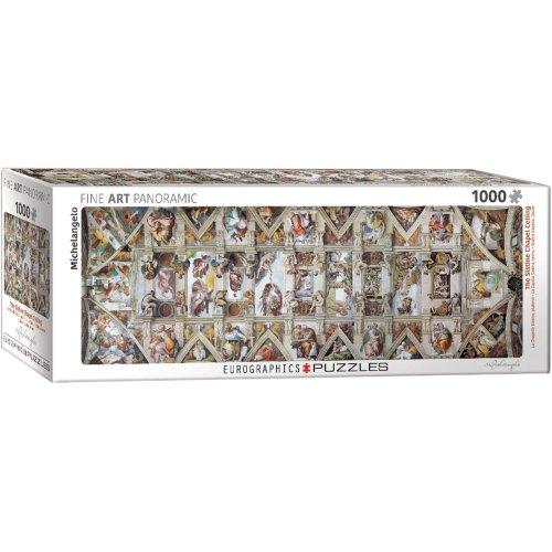 Eg60100960 - Eurographics Puzzle 1000 Pc - Sistine Chapel by Michelangelo