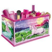 Ravensburger My 3D Boutique - Unicorns Vanity Box, 216pc 3D Jigsaw Puzzle