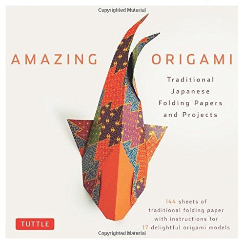Amazing Origami Kit: Traditional Japanese Folding Papers and Projects (No)