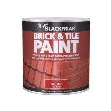 Blackfriar BF0160001E1 Brick & Tile Paint Matt Red 500ml