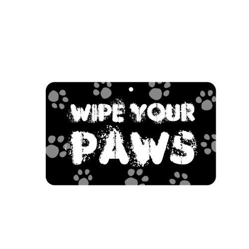 Fun Sign - Wipe Your Paws