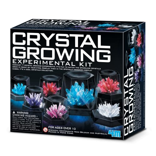 Crystal Growing Experiment Kit - 4M Children's Creative Science Set