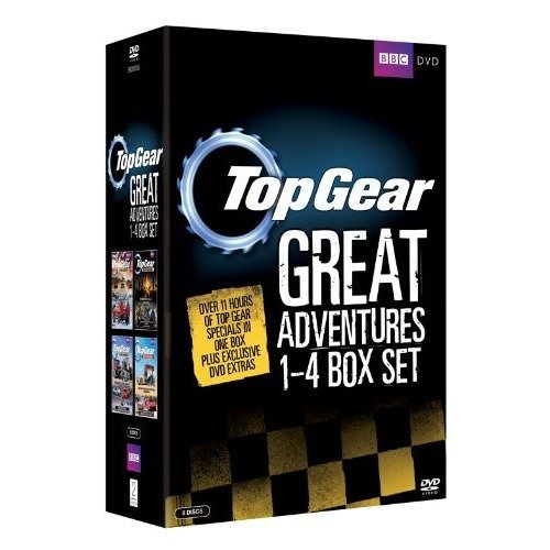 Top Gear - The Great Adventures 1 to 4 DVD [2011]