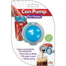 Jokari 0105101P2 Fizz-Keeper Beverage Can Pump & Pour - Set of 2