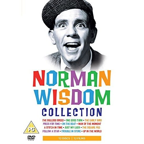 Norman Wisdom Collection (12 Films) DVD [2008]
