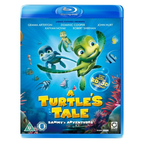 A Turtles Tale - Sammys Adventures 3D+2D Blu-Ray [2011]