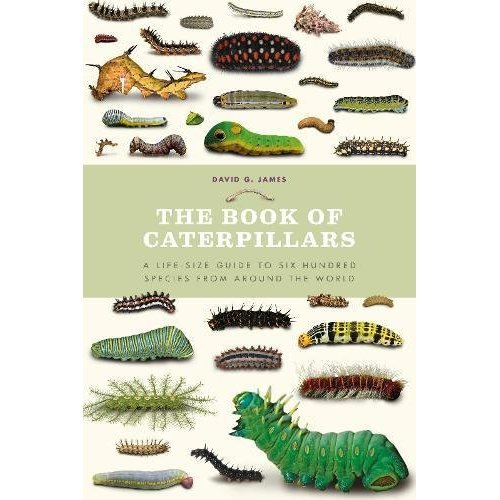 The Book of Caterpillars: A life-size guide to six hundred species from around the world