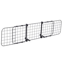 PawHut Heavy Duty Pet Dog Car Barrier Adjustable Ventilated Mesh Wire Guard