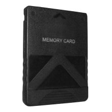Memory card for PS2 PS2 Slim PlayStation Sony console 16MB ZedLabz – Black