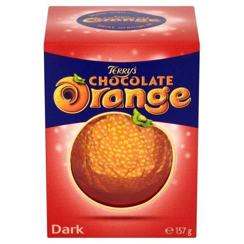 Terry's Chocolate Orange Dark, 157g (PACK OF 3)