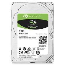 Seagate HDD Internal 5 TB BarraCuda SATA 2.5 Computer Hard Disk Drive - Silver (New)