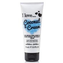 I Love... Coconut & Cream Super Soft Hand Lotion 75ml