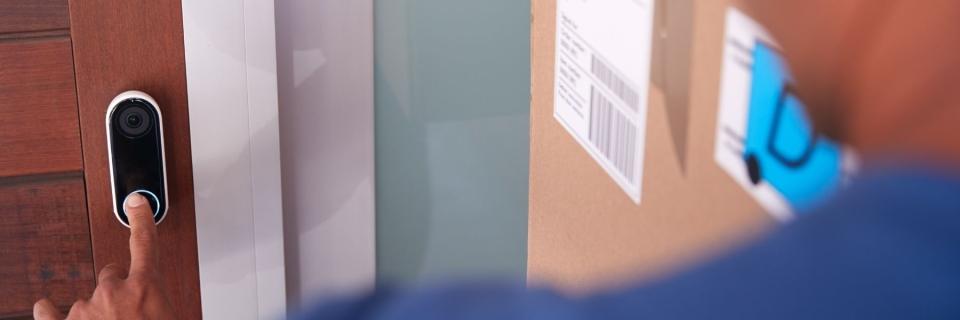 delivery driver smart doorbell