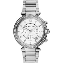 Michael Kors Parker Ladies Watch MK5353 Silver New with Tags