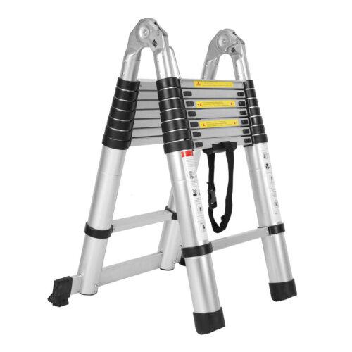 5M Portable Heavy Multi-Purpose Telescopic Ladder UK