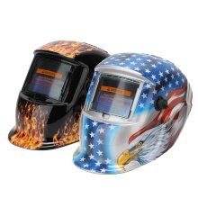Auto Darkening Welding Helmet Mask Welder Grinding Function SolarPower