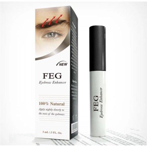 FEG Organic Eyebrow Enhancer Growth Serum - 3ml