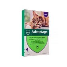 Advantage 80 Large Cat  4 pack Flea Control for Cats