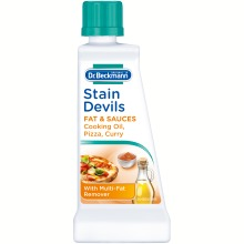 DR Beckmann's Stain Devils Cooking Oil Fat Blood Starch Fabric 50ml