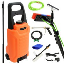 MAXBLAST 30L Water Trolley & Water Cleaning Pole