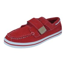 Timberland Casco Bay HL Kids Boat / Deck Shoes - Red Size 12K
