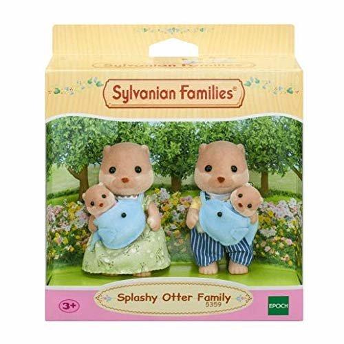 Sylvanian Families Splashy Otter Family Various