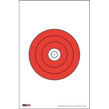 EZ2C Targets EZ2C009 Targets Style 9, Pack - 25