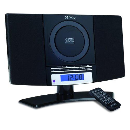 DENVER MC-5220 CD Player - FM Radio & Clock Alarm