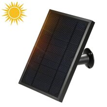 Solar Panel Compatible with Outdoor Solar Powered Wireless Security
