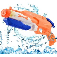 Addmos Water Gun with 2 Nozzles, Super Water Pistol Soaker Blaster with 1200ML Large Capacity, Pump Water Guns Powerful 8-10m...