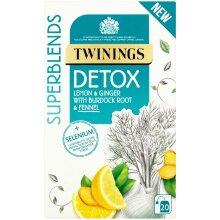 Twinings Superblends Detox Enveloped Tea Bags - 4x20
