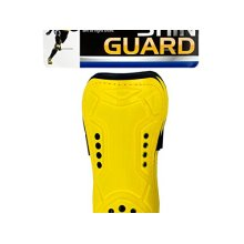 Bulk Buys Protective Contoured Sports Shin Guards 4 Pack