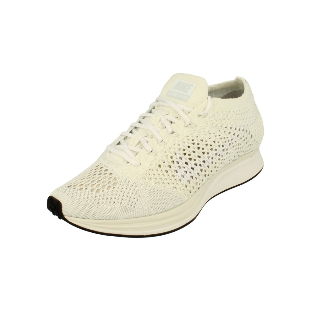 (4) Nike Flyknit Racer Unisex Running Trainers 526628 Sneakers Shoes