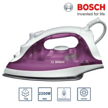 Bosch TDA2329GB Steam Iron 2200W Anti-Calc 70g Steam Shot Vertical Steam - Refurbished
