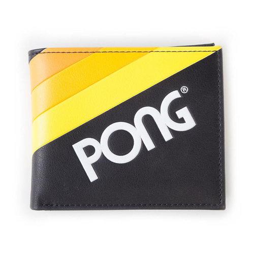 Pong Wave Stripe Bi-fold Wallet