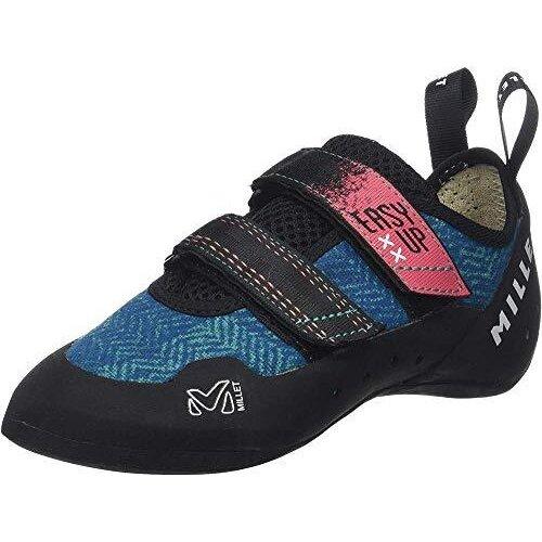 MILLET Women's Easy UP W Climbing Shoe, Pool Blue, 4 UK