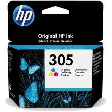 HP 3YM60AE 305 Tri-Colour Original Ink Cartridge - Cyan, Yellow & Magenta