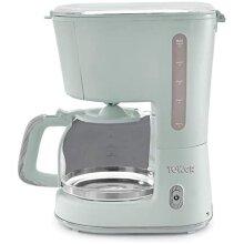 Tower Scandi T13006GRN 900W 1.25L Coffee Maker Sage Green