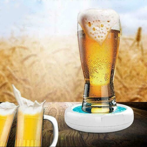 Home Lager Beer Foamer Surger Unit Sonic Beer Foamer Perfect Frother