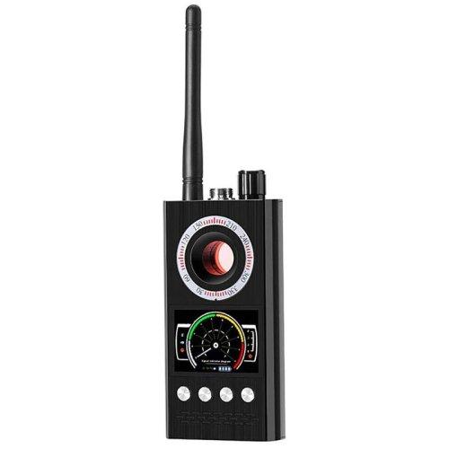(As Seen on Image) K68- Wireless Signal Detector Bug, GSM/ GPS Tracker, Hidden Camera Device  (Black)