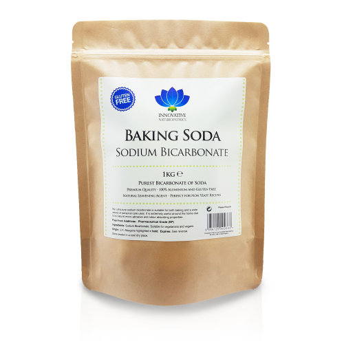 Sodium Bicarbonate - Aluminium & Gluten Free - Natural Baking Soda (1kg)