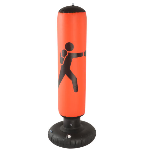 (Red) 160cm Free Standing Boxing Bag Punch Bag