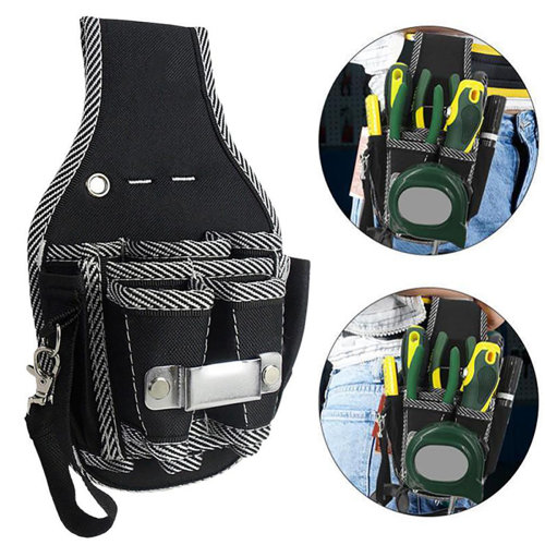 Electrician Waist Pocket Tool Belt Pouch Screwdriver Kit Holder Tools Storage Bags