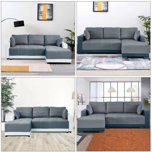 Luxury Corner Storage Sofa Bed (XL)